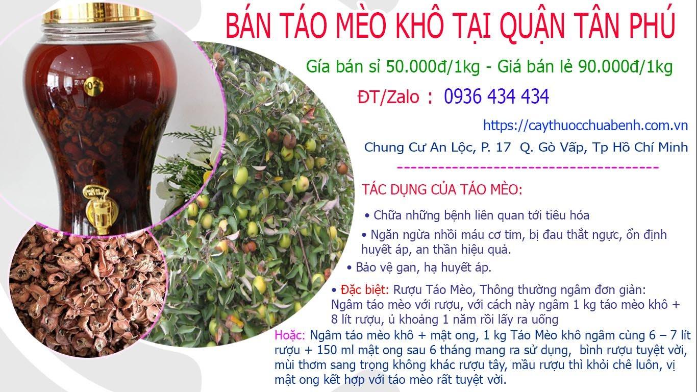 Bán Táo Mèo khô ngâm rượu uy tín tại Quận Tân Phú giá từ 50k